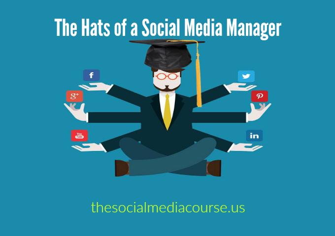 The Hats of a Social Media Manager
